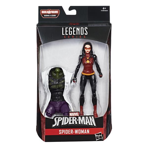 Spiderman - Figurine Spider-woman 15 cm Legends Series Build a figure