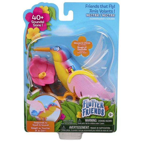 Animal interactif - Oiseau colibri Nectar - Flutter Friends