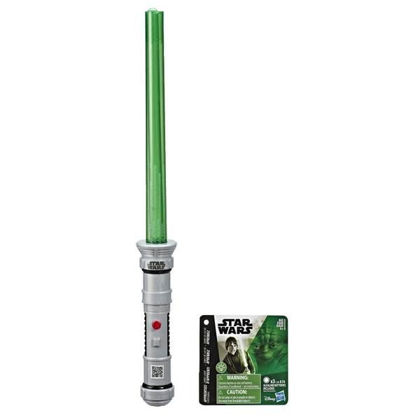 Sabre laser vert lumineux d'apprenti Jedi - Star Wars Lighsaber Academy