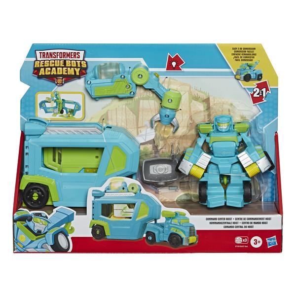 Figurine Centre de commandement Hoist - Transformers Rescue Bot Academy