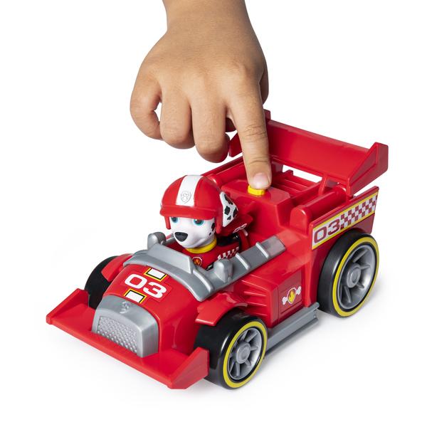 Véhicule avec figurine Marcus Ready Race Rescue Pat