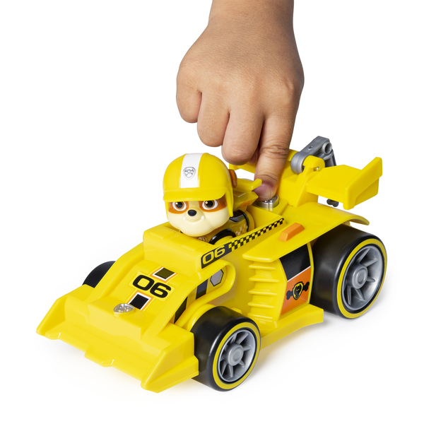 Véhicule avec figurine Ruben Ready Race Rescue Pat