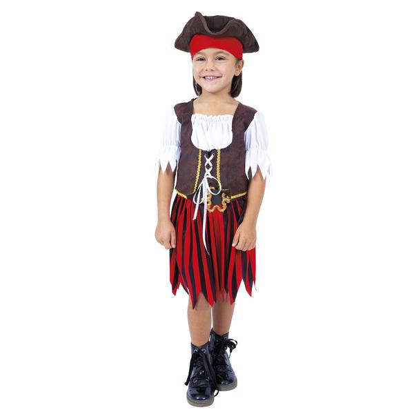 Déguisement de pirate fille 6/8 ans