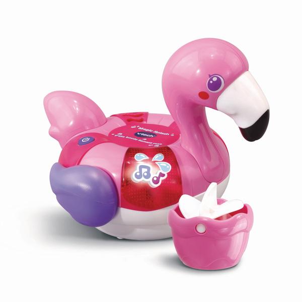 Jouet de bain - Magic Splash P'tite bouée Flamant rose
