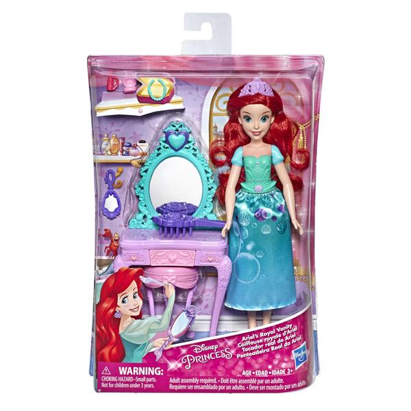 Poupée Ariel La Petite Sirène et accessoires - Disney Princesses