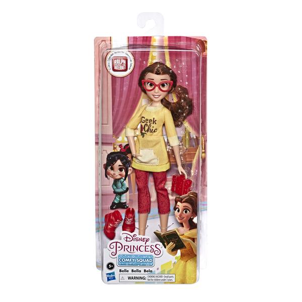 Poupée Belle Comfy Squad - Disney Princesses