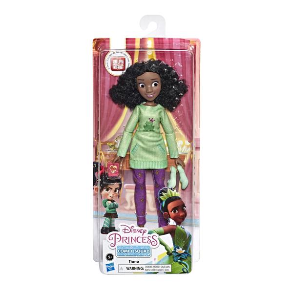 Poupée Tiana Comfy Squad - Disney Princesses