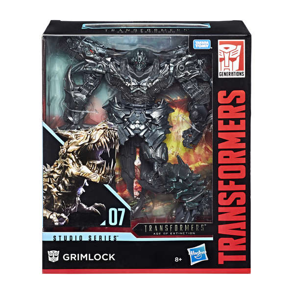 Figurine Robot Leader Class Grimlock 22 cm - Transformers Studio Series