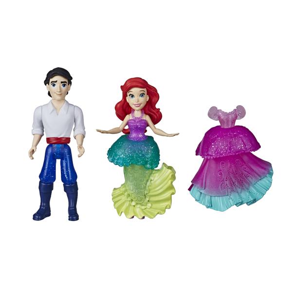 Mini-poupées Ariel et Eric 8 cm - Disney Princesses