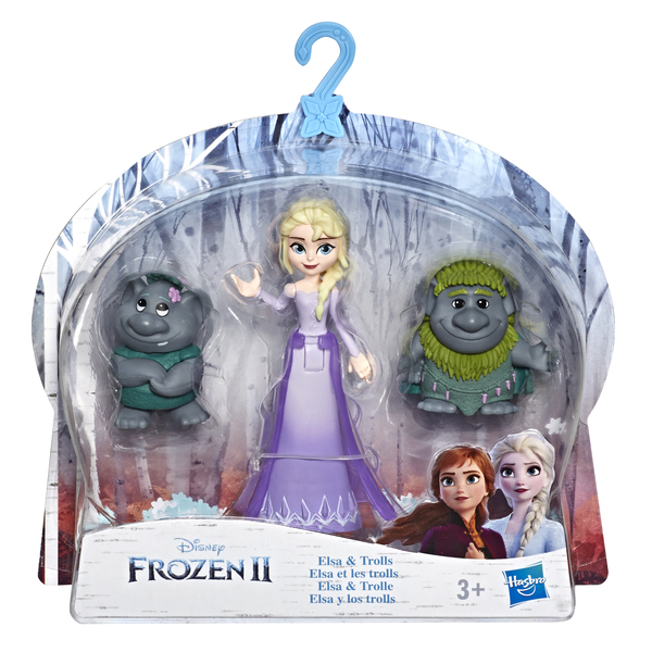 Mini poupée Elsa avec amis - La Reine des Neiges 2