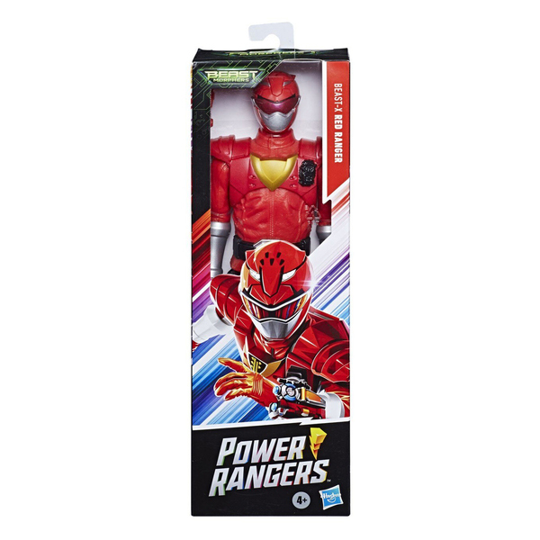 Figurine Rouge Beast-X 30 cm - Power Rangers Beast Morphers