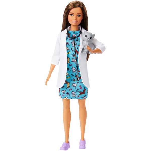 Poupée Barbie métier de rêve vétérinaire