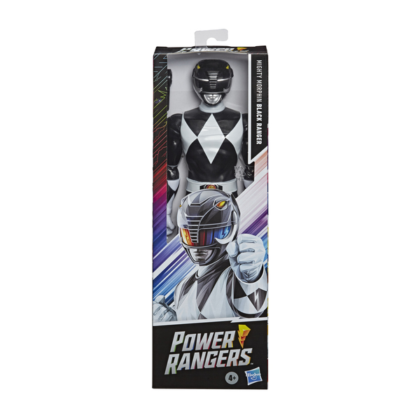 Figurine Ranger Noir 30 cm - Power Rangers Mighty Morphin
