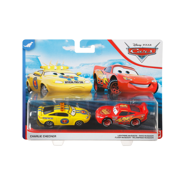 Pack 2 mini-véhicules McQueen et Charlie - Disney Pixar Cars 3