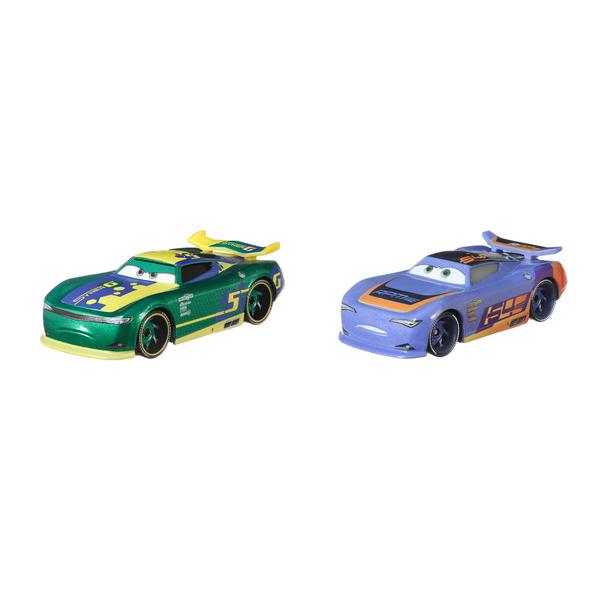 Pack 2 mini-véhicules Braker et DePedal - Disney Pixar Cars 3