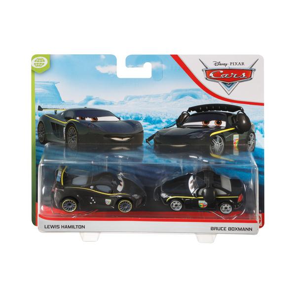 Pack 2 mini-véhicules Lewis et Bruce - Disney Pixar Cars 3