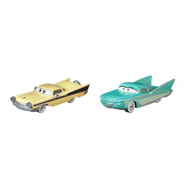 Pack 2 mini-véhicules Nicky B. et Flo - Disney Pixar Cars 3