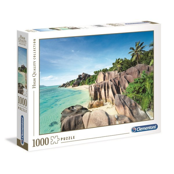 Puzzle 1000 pièces plage paradisiaque
