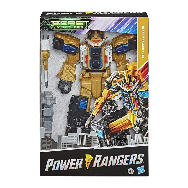 Figurine Megazord Wrecher 30 cm - Power Rangers Beast Morphers