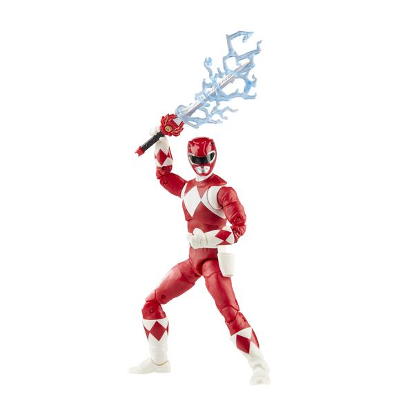 Figurine Red Ranger 15 cm - Power Rangers Lightning Collection
