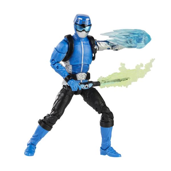Figurine blue Ranger 15 cm - Power Rangers Lightning Collection