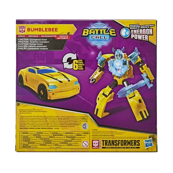 Figurine électronique Bumblebee 14 cm - Transformers Cyberverse Adventures