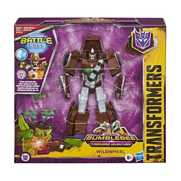 Figurine électronique Wildwheel14 cm - Transformers Cyberverse Adventures