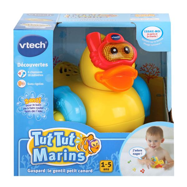 Jouet de bain Gaspard gentil petit canard bleu - Tut Tut Marins