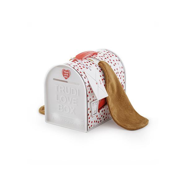 Peluche Chien Love Box