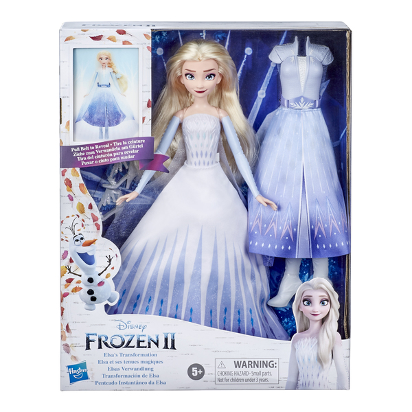 Poupée Elsa tenue magique - La Reine des Neiges 2