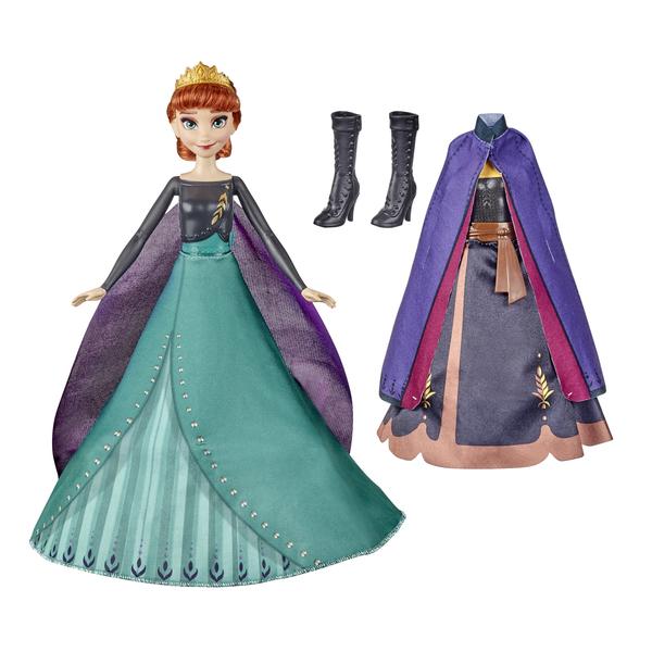 Poupée Anna tenue magique - La Reine des Neiges 2