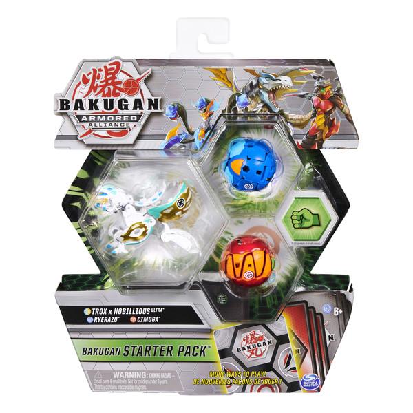 Bakugan - Starter pack Trox x Nobillious Ultra - Saison 2