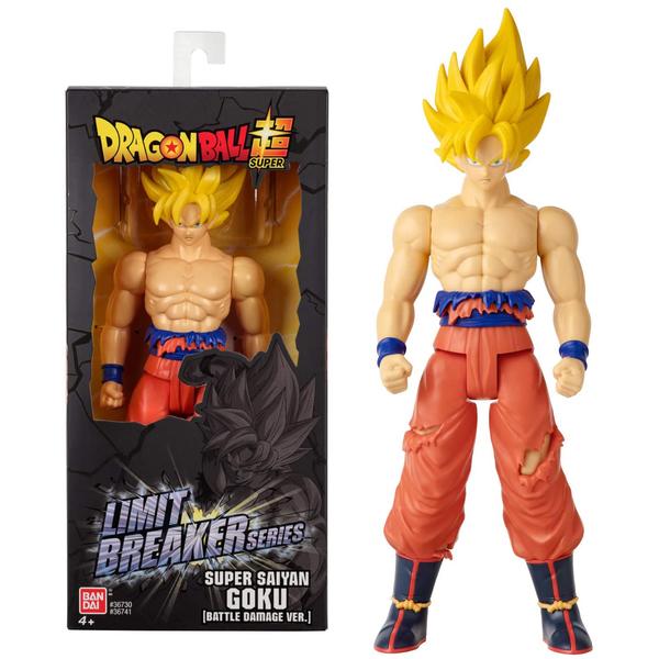 Figurine Super Saiyan Goku Limit Breaker - Dragon Ball Super