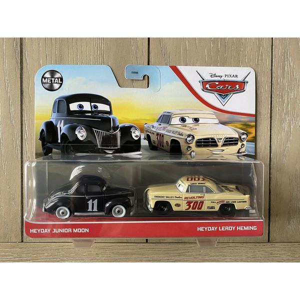 Cars - 2 véhicules Junior Moon et Leroy Heming