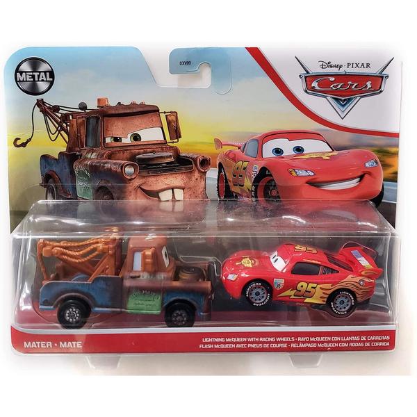 Cars - 2 véhicules Martin et Flash McQueen