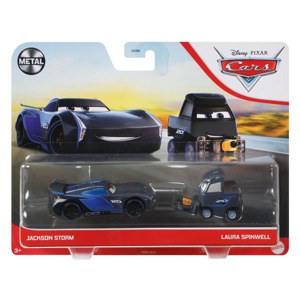 Cars - 2 véhicules Laura Spinwell et Jackson Storm