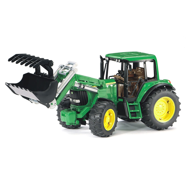 tracteur john deere fourche bruder king jouet v hicules de chantier et tracteurs bruder. Black Bedroom Furniture Sets. Home Design Ideas