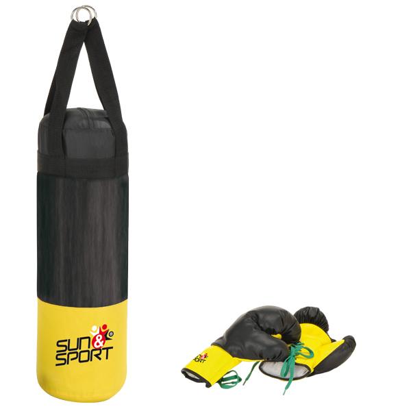 sac de frappe gonflable sur pieds avec gants de sun sport. Black Bedroom Furniture Sets. Home Design Ideas