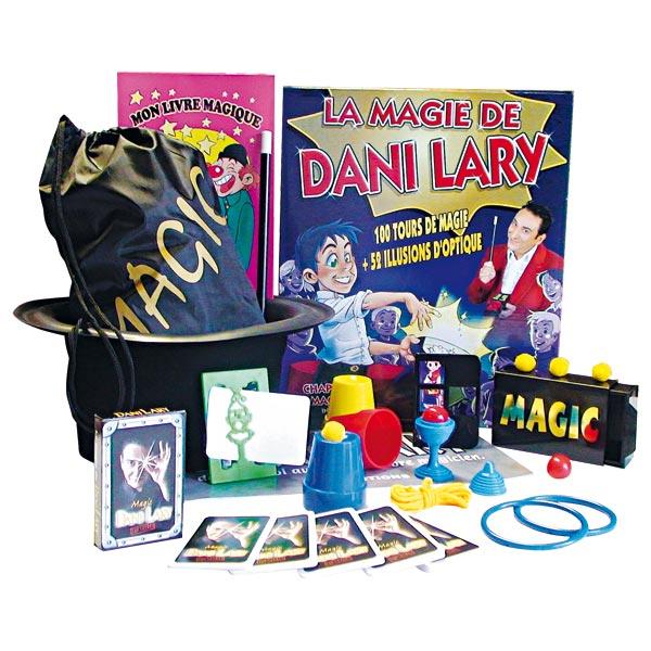 Magie : Coffret Dani Lary pro + Chapeau de magicien + DVD Sans marque  Magasin