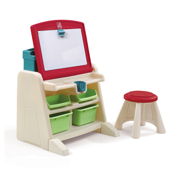 bureau 2 en 1 cadeau enfant offrir idée 2 ans fille garçon rangement