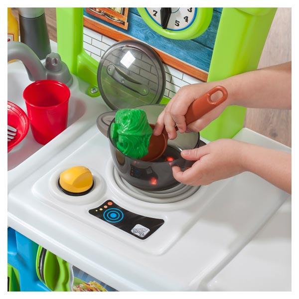 Cuisine little cooks step 2 king jouet cuisine et for Cuisine king jouet