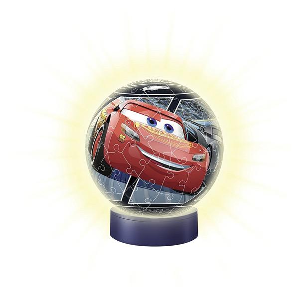 Cars 3 - Puzzle 72 pièces 3D Lumineux