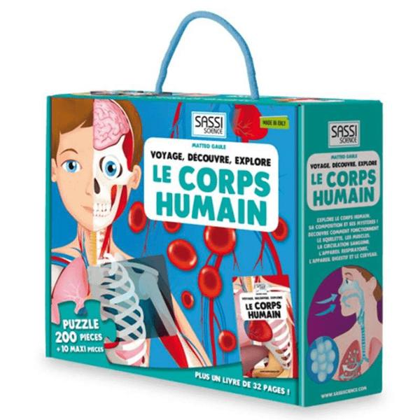 Livre Le corps humain en 2D - Voyage, découvre, explore