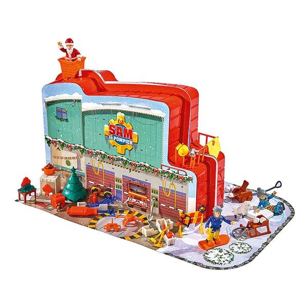 calendrier de l 39 avent sam le pompier smoby king jouet. Black Bedroom Furniture Sets. Home Design Ideas