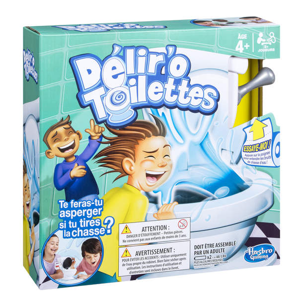 d lir 39 o toilettes hasbro gaming king jouet jeux de