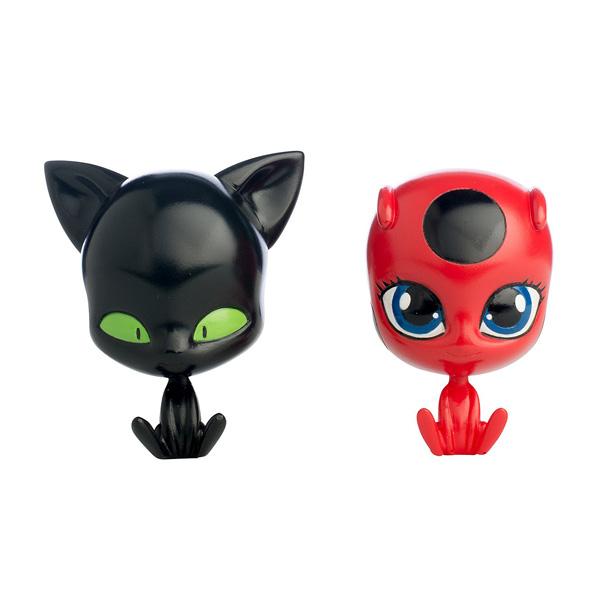 Pack 2 Poupées Ladybug et chat noir