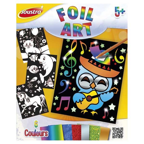 Cartes autocollantes Foil'Art