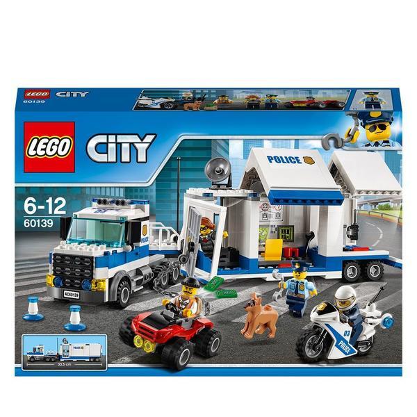 60139 - LEGO® CITY - Le poste de commandement mobile
