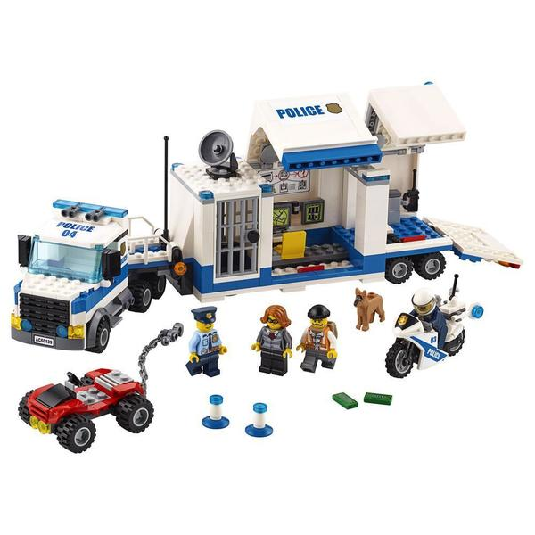 60139 - LEGO® City Le poste de commandement mobile
