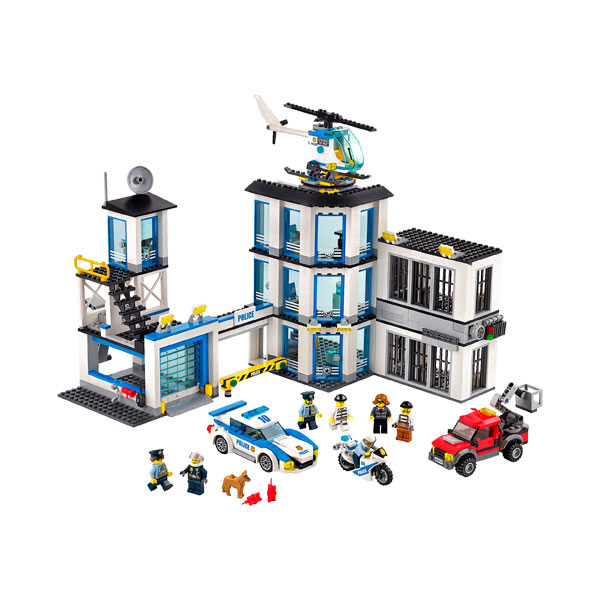 60141 - LEGO® CITY - Le commissariat de police